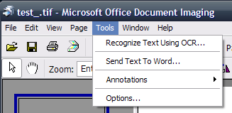 how to open microsoft office document imaging