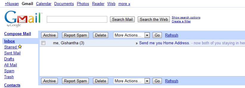 gmail html login