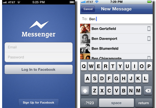 how to send files in facebook messenger app